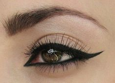 8 Simple Ways to Instantly Upgrade Your Cat Eye Look: Girls in the Beauty Department: Beauty: glamour.com #'eyeliner'
