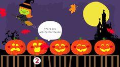 5 Little Pumpkins - a very cute Halloween counting song