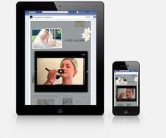 Estee Lauder, Bridal Looks, App, Facebook, Website, Phone, Telephone, Apps, Mobile Phones