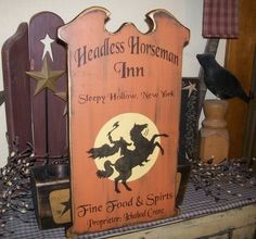 Items for sale by Halloween Wood Crafts, Halloween Wood Signs, Halloween Door, Diy Halloween Decorations, Holidays Halloween, Scary Halloween, Vintage Halloween, Halloween Projects, Halloween Ideas