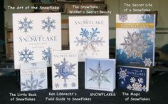 Snowflake Books by Ken Libbrecht  Great resources for learning more about snowflakes