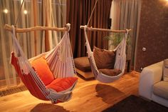 Hammock Chair With Washable Cushion Cases