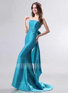 Evening Dresses - $124.99 - Mermaid Strapless Sweep Train Taffeta Evening Dress (017014276) http://jjshouse.com/Mermaid-Strapless-Sweep-Train-Taffeta-Evening-Dress-017014276-g14276?ver=xdegc7h0