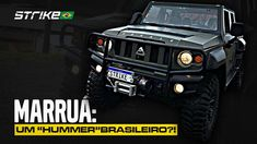 "Agrale Marruá: um ""Hummer""brasileiro?! Hummer, Offroad, Vehicles, Special Forces, Cars, Off Road, Lobsters, Hama, Car"