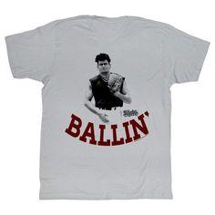 OFFICIAL Major League Men/'s T-Shirt Jobu/'s Rum Movie Black
