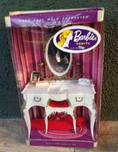 barbie susy goose Vanity Mint In Box