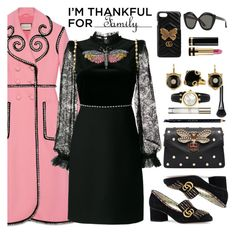 I'm Thankful for by faten-m-h on Polyvore featuring polyvore fashion style Gucci clothing thanksgiving