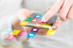 A Mobile App vs a Webpage that is mobile enabled – which app is right for your business? Blog written for Nimblex. #blog #copywriting #contentmarketing