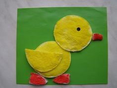 Creative Kids Craft Ideas with Cotton Pads | www.FabArtDIY.com