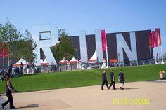 Olympic Park buildings Sept 3, 2012