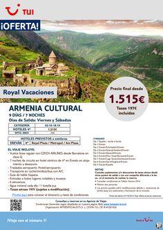 Oferta Armenia Cultural. 7 noches. Octubre. Precio final desde 1.515€ ultimo minuto - http://zocotours.com/oferta-armenia-cultural-7-noches-octubre-precio-final-desde-1-515e-ultimo-minuto/