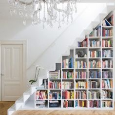 Given all of the books my hubby & I have, this would be really helpful in organization :D