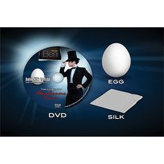 Auto Silk to Egg (Metal Construction) - The auto silk to egg is a magical effect in a magical effect. The magician holds a white silk in his hand. In a flash it changes into an egg! The egg is cracked over a glass proving that it is the real get it here: http://www.wizardhq.com/servlet/the-16102/auto-silk-to-egg-metal-construction/Detail?source=pintrest