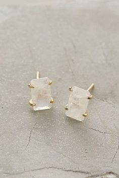 Iced Moonstone Posts #anthropologie