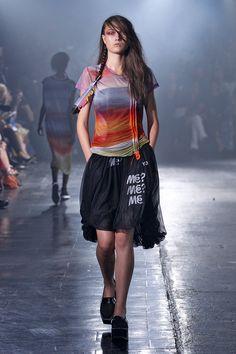 @Y-3 S/S 2014 Women's Runway Looks #adidas #Y3 #Y3show #NYFW #meaninglessexcitement #PeterSaville