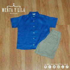 Trajecito de lino para niños con 10% de descuento. Se verán más guapitos ;) http://www.mentaylila.com/blog/11-ninas/327-descuento-en-colecciones-para-ninas-y-ninos