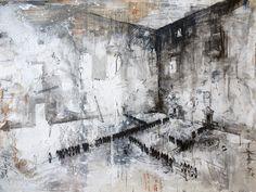 De Burócratas y Padrinos / 120 x 180 / mixta sobre lino / 2014