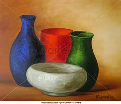 LOS BODEGONES DE DORIMAR Pottery Painting, Pottery Art, Expos Paris, Peruvian Art, Southwestern Art, Still Life Oil Painting, Butterfly Wall Art, Fruit Painting, Pen And Watercolor