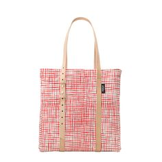 Square Tote in Painted Check - Kate Spade Saturday