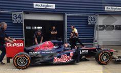 Primo test per Max Verstappen a Rockingham