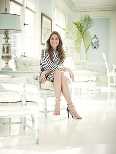 Aerin Lauder in British Vogue August issue by Jason Bell - House of Retouching
