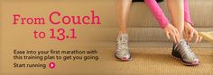 Half-Marathon for Beginners - from couch to 13.1 in 10 weeks.