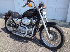 1997 883 Harley Davidson Sportster | 1997 Harley Sportster XLH 883 Hugger,low miles, recent service, low ...