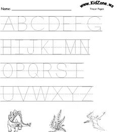 Make your own tracing pages