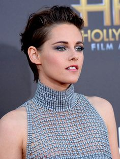 The Biggest Celebrity Beauty Transformations of 2014: Kristen Stewart