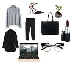 """""""#10"""" by francescapolyvore-1 ❤ liked on Polyvore featuring beauty, MANGO, Zara, MAC Cosmetics and Dot & Bo"""