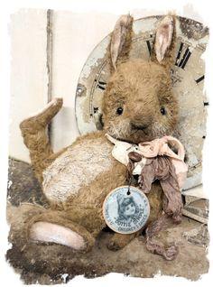 "Образ Дотти Димпл - Старый пухлый Зайчик * дорогая (9"") Кролик"
