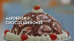Rutger bakt zijn aardbeien chocolade bombe #HHB #HeelHollandbakt #HHBrecepten #HeelHollandbaktrecepten