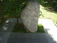 Olof Palme (1927-1986). Location: Adolf Fredriks kyrkogård, Stockholm, Sweden.