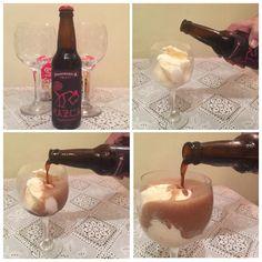 Harmonização de cerveja com sorvete!