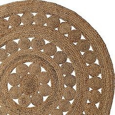 Round Jute Rug - contemporary - rugs - by Serena & Lily