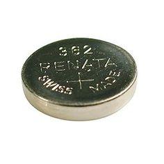 Renata 362 Button Cell watch battery $0.79