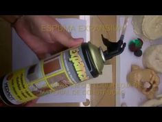 Base para bonecos de Biscuit com Espuma Expansiva - YouTube