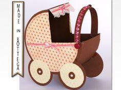Pois Thursday : diy a box baby carriage