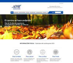 Proyecto de desarrollo web para la asesoría fiscal, laboral, contable, y jurídica, Acyse - Calle Mayor Comunicación y Publicidad