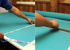 Fotos: Passo a passo: Aprenda a fazer uma capa para renovar sua cadeira - 16/06/2016 - UOL Universa Diy Sofa Cover, Couch Covers, Diy Chair, Ping Pong Table, Arts And Crafts, House Design, Fabric, Furniture, Home Decor