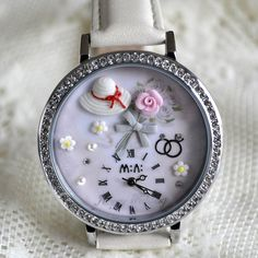 MINI hodinky - Zásnuby Bracelet Watch, Watches, Bracelets, Accessories, Wristwatches, Clocks, Bracelet, Arm Bracelets, Bangle
