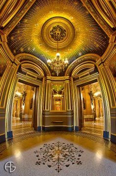 Salon du Soleil. Opéra Garnier, Paris, France (HDR)