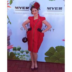 #CUPDAY   It is completely infectious being in Melbourne on Cup Day  #giddyup #melbourne #myoutfit #ootd #MyerRacingStyle @myer #fotf #instapic #melbournecup #fun #red #ranga #poser #love #races Melbourne Cup, Insta Pic, My Outfit, Amy, Wrap Dress, Ootd, Summer Dresses, Bridal, Instagram Posts