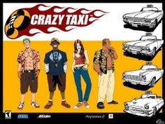 You can play the Crazy taxi game right here as well as many other stunning driving games that we have got for you!