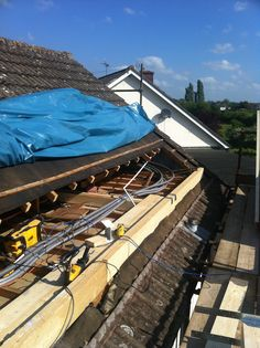 loft conversion flat roof dormer in-build #1