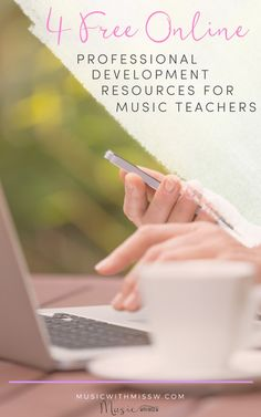 Why pay for expensive tutorials and courses if you can have it for free? Find out this Free Professional Development Resources for Music Teachers! Music Teachers, Music Classroom, Teaching Music, Music Education, Classroom Ideas, My Teacher, School Teacher, Teacher Stuff, Teaching Character