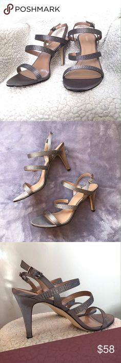 Beautiful Pewter heels Stunning color, pewter! New in box heels. Style & Co Shoes Heels