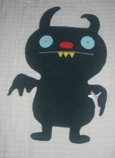 "14"" UGLY DOLL BLACK BATTY SHOGUN PLUSH STUFFED ANIMAL TOY"