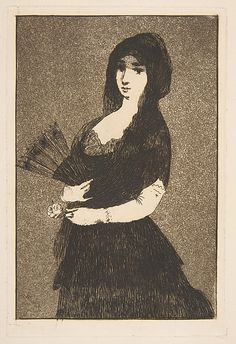 Exotic Flower (Fleur Exotique)  Édouard Manet / 1868.  etching and aquatint on laid paper; final state (II)