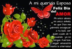 Resultado de imagen para tarjetas para  ti mujer Rose, Flowers, Plants, Forbidden Love, Happy Wife, Happy Mothers Day, Woman, Loving Someone, Home Aquarium